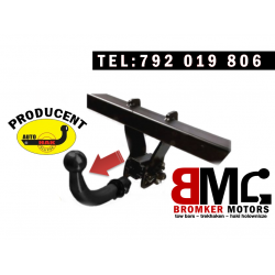 Horizontally detachable towbar AUTO-HAK D29A