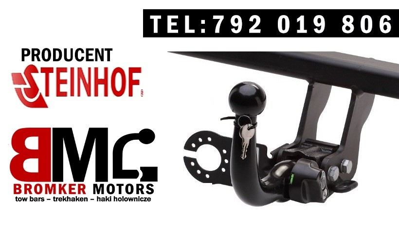 Detachable Horizontal Towbar with Electric Kit 13Pin MITSUBISHI ASX 2010