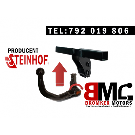 Vertically detchable towbar STEINHOF V-153